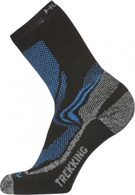 Ponožky  Treking XL (45-48), šedá/oranžová