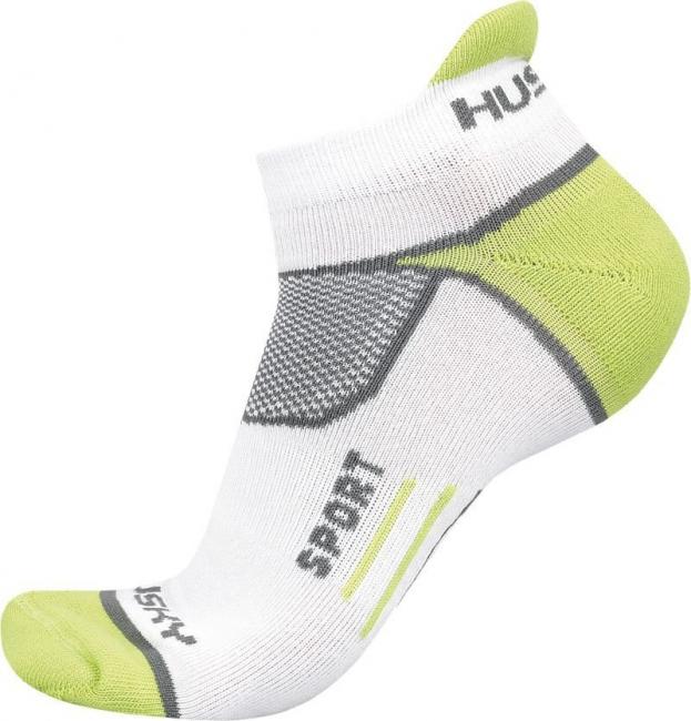 Ponožky   Sport bílá, XL (45-48)