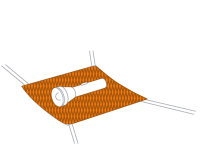 Odkládací síťka na drobnosti