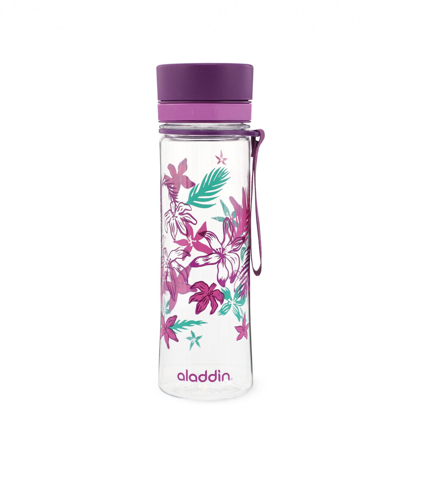 Levně Aladdin Aveo fialová Outdoorová láhev