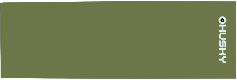 Karimatka  Foal 1,2 cm tm.zelená