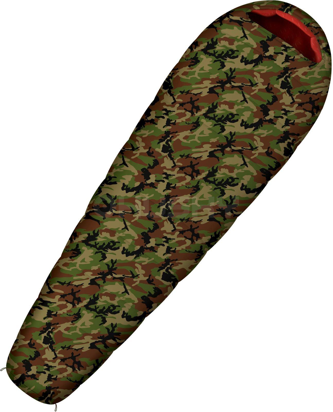Spacák Outdoor Army -17°C khaki
