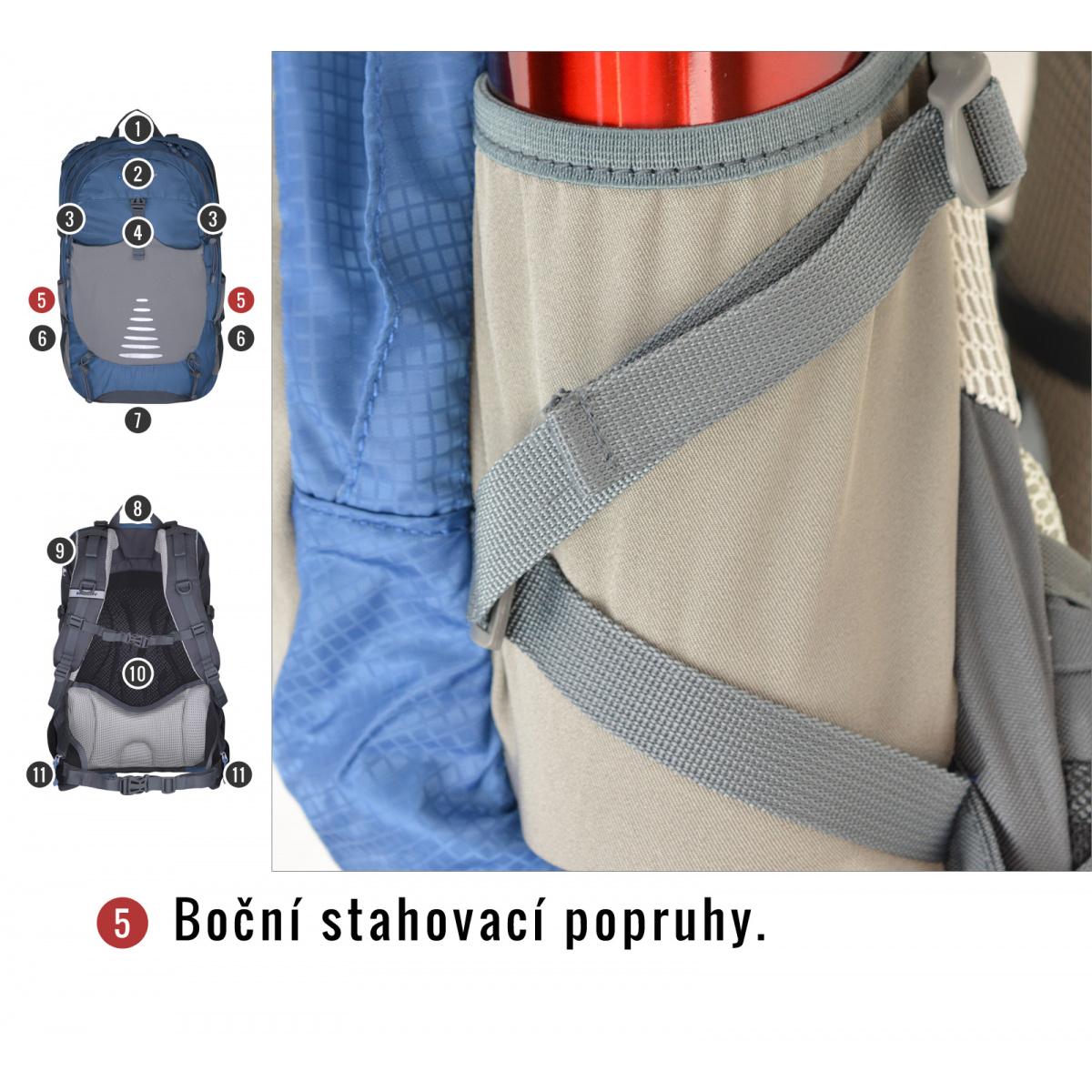 Batoh Turistika   Cyklo - Skid 26l – černá  418f27fe67