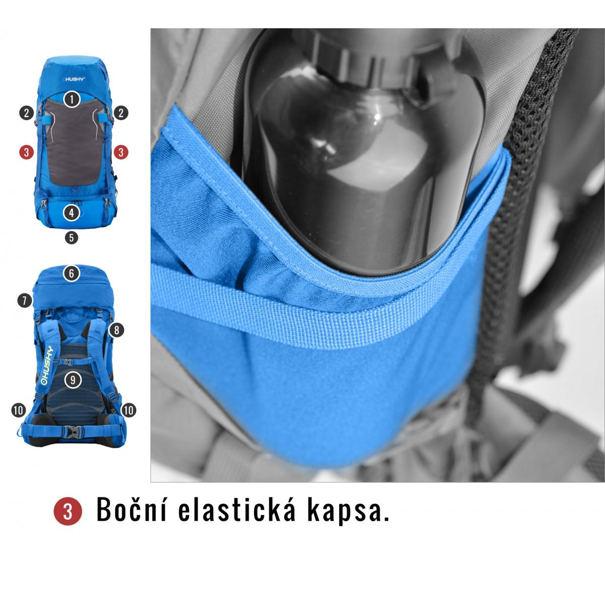 696a41a3c Batoh Ultralight - Rony 50l – modrá | HUSKYCZ.CZ