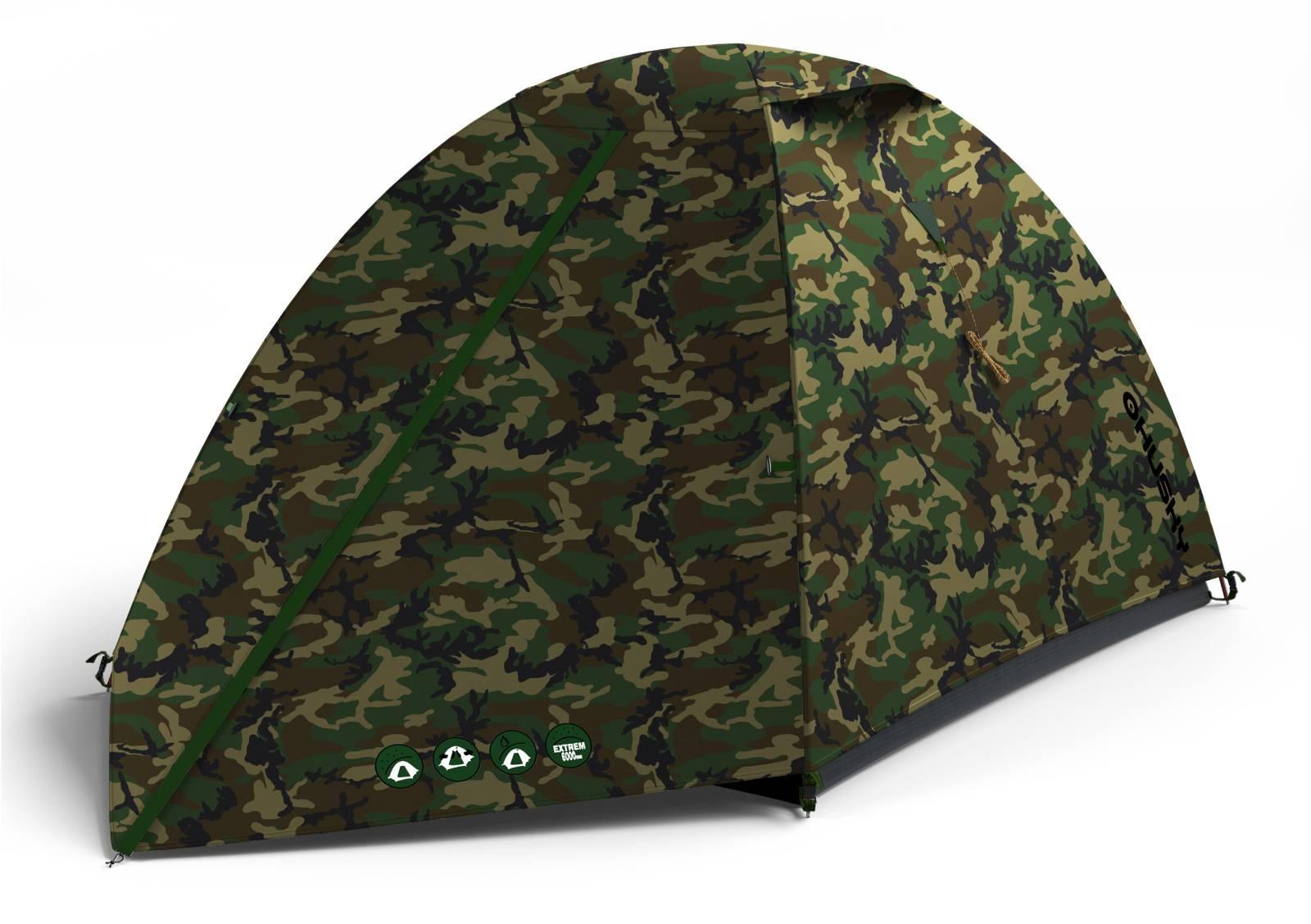 Stan Outdoor Bizam 2 army zelená