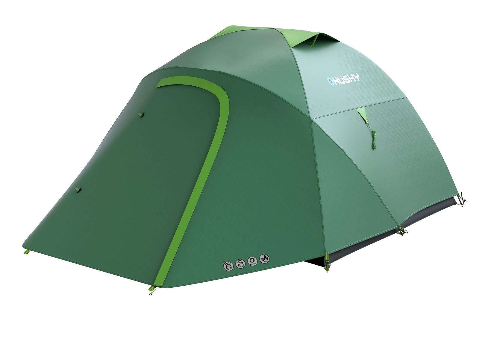 Husky Bonelli 3 sv. zelená Stan Outdoor