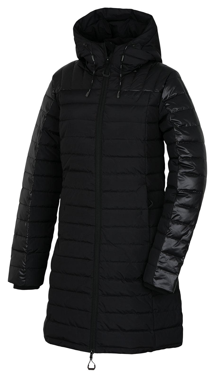 Husky Daili L L, černá Dámský péřový kabátek