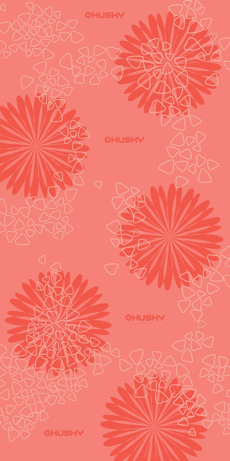 multifunkční šátek   Daphne růžová
