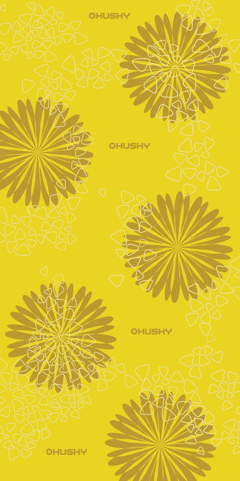multifunkční šátek   Daphne žlutá