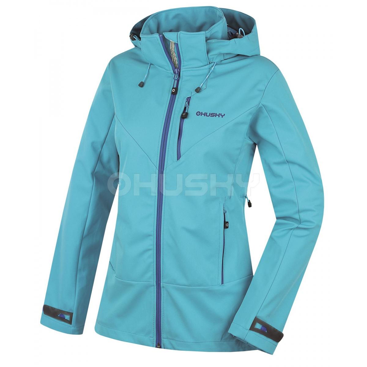 Dámská outdoor bunda - Spoly L – modrá  379b88aebd6