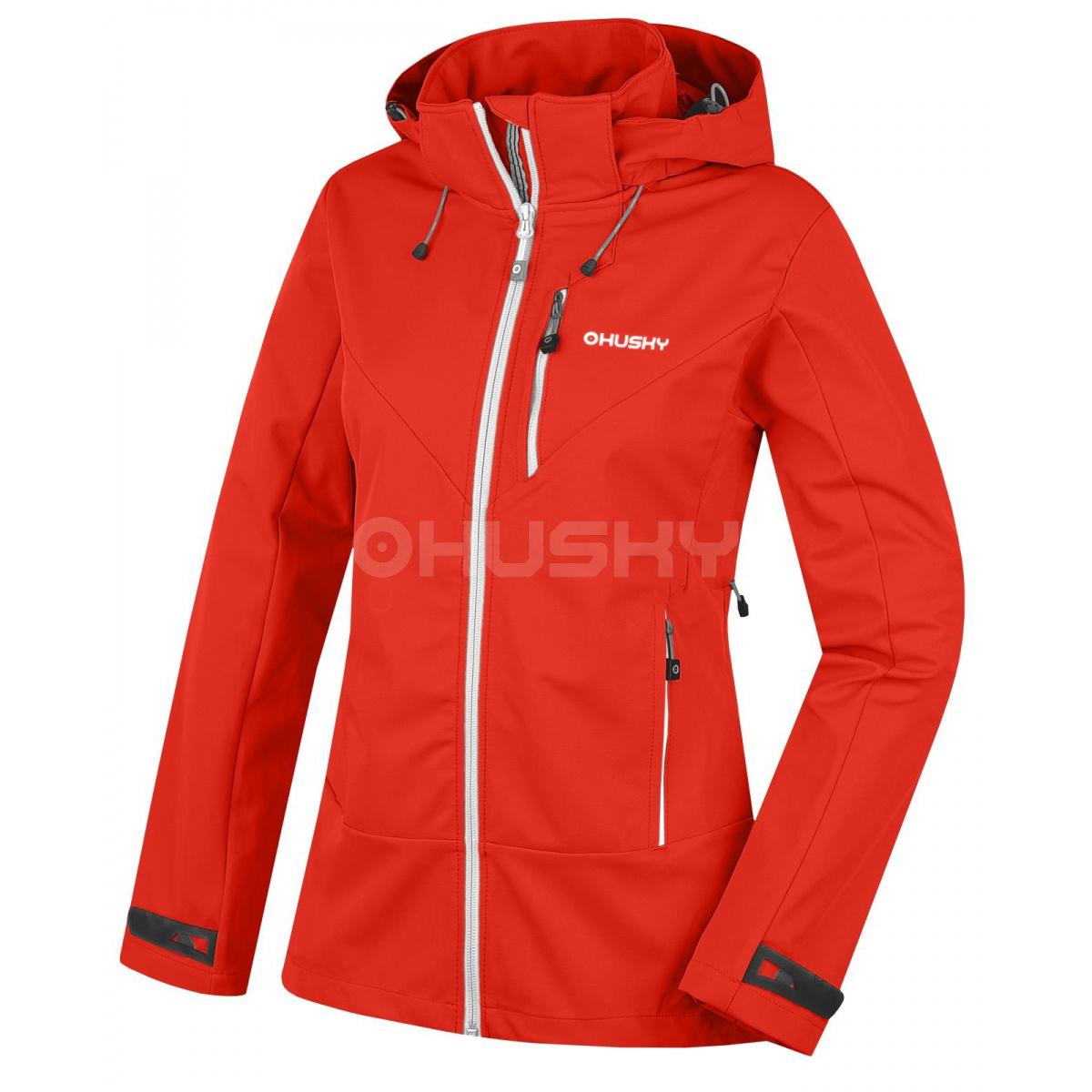 Dámská outdoor bunda - Spoly L – červená  00b04ddcd29