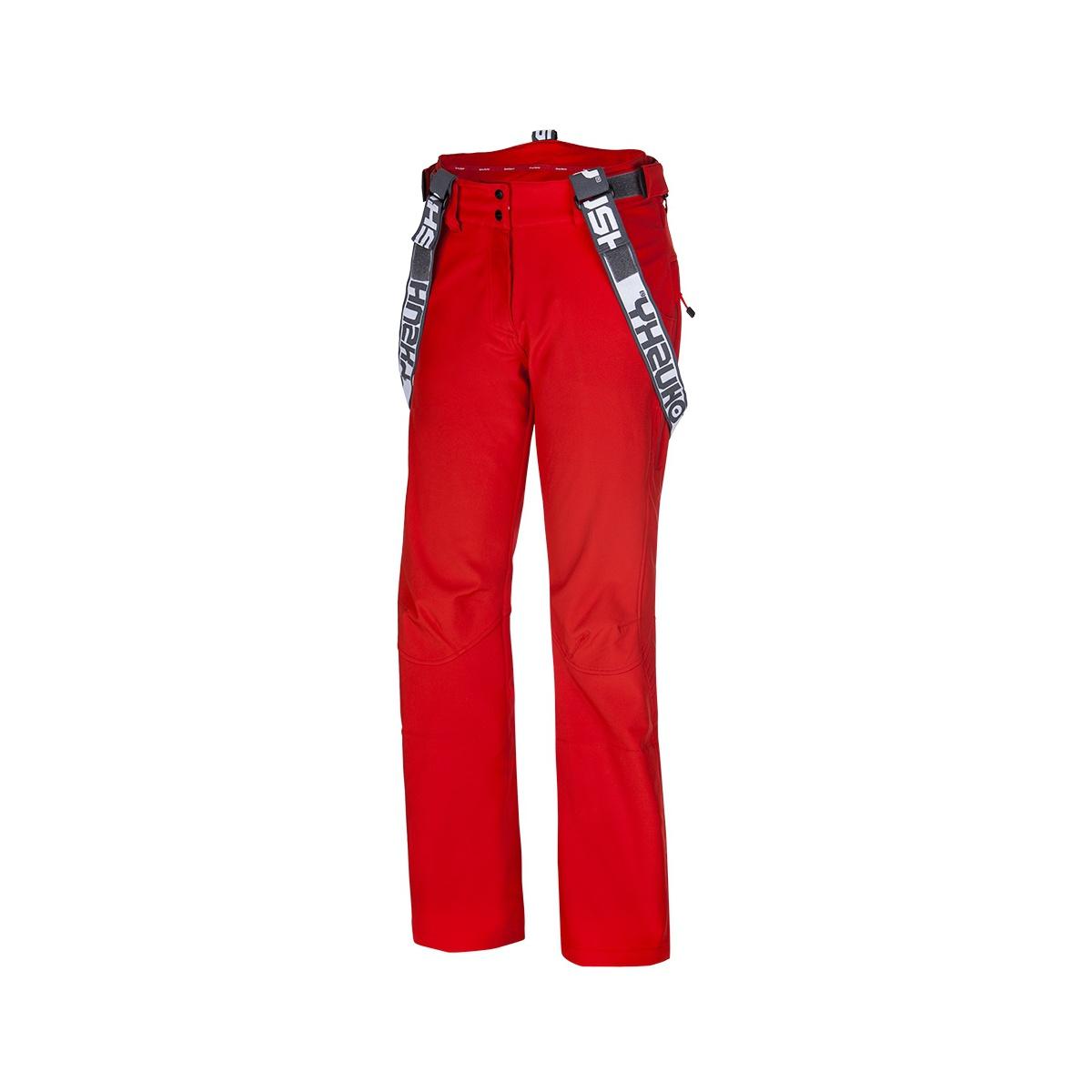 Dámské lyžařské kalhoty - Galti L – červená  01a2cd45b6
