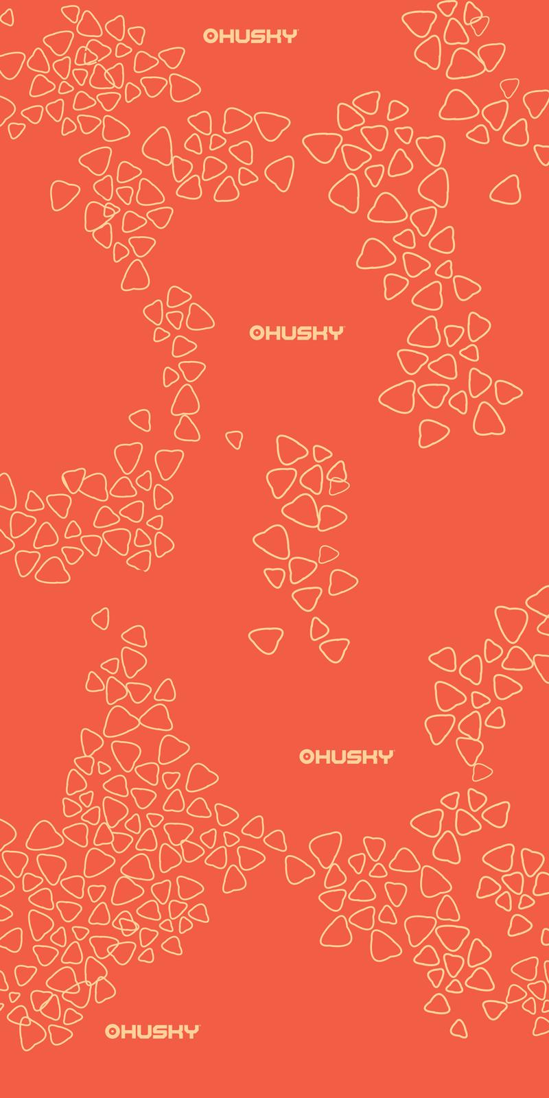 multifunkční šátek   Doks oranžová