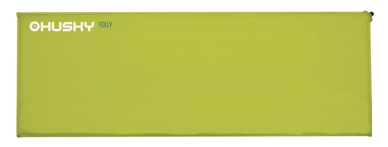 Karimatka Husky Folly 2,5 sv. zelená