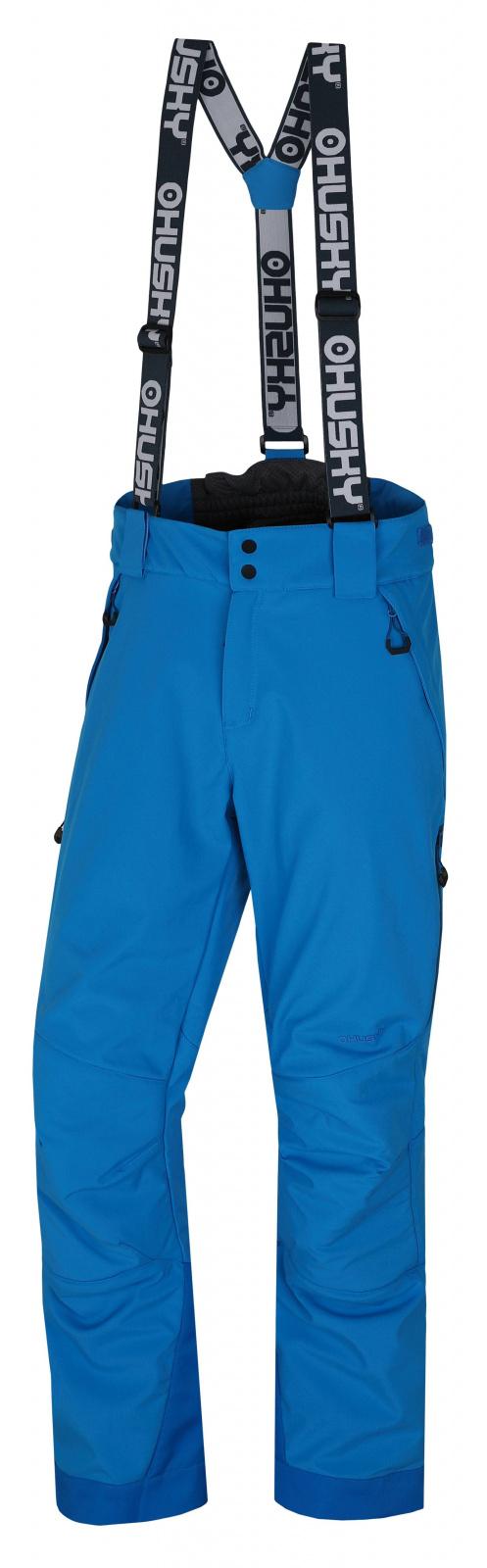 Husky Galti M M, modrá Pánské lyžařské kalhoty