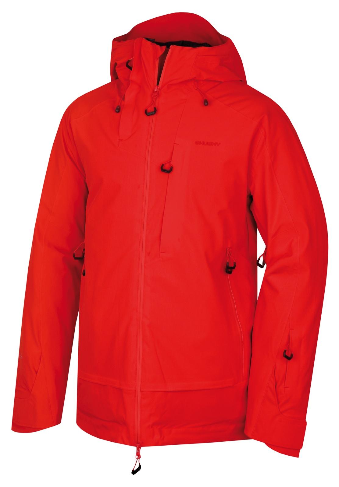 Husky  Gombi M L, červená Pánská lyžařská bunda