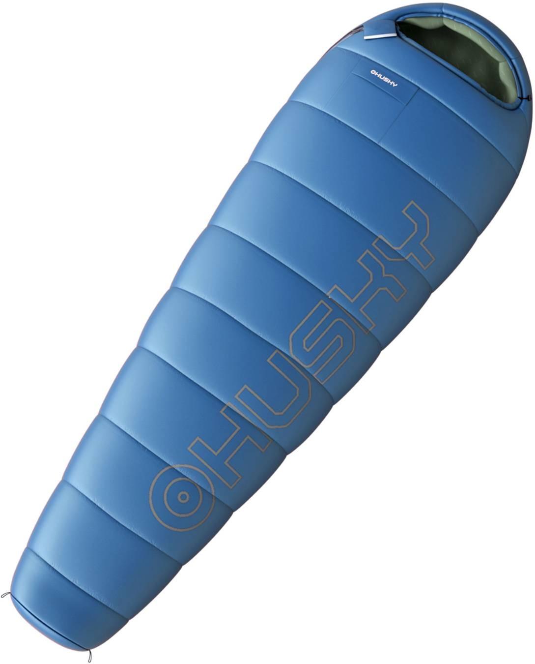 Spacák Outdoor Husky -10°C LONG modrá
