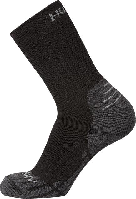 Husky All Wool černá, M (36-40) Ponožky