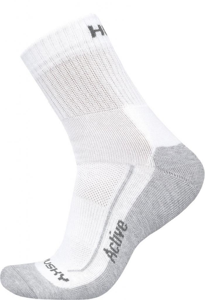 Husky Active M (36-40), bílá Ponožky