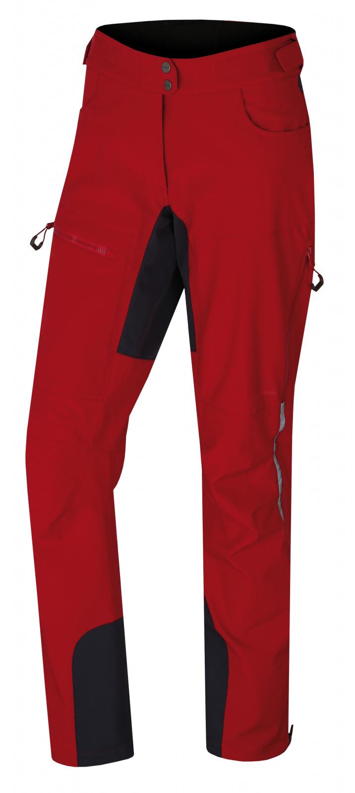 Husky Keson L M, červená Dámské softshell kalhoty