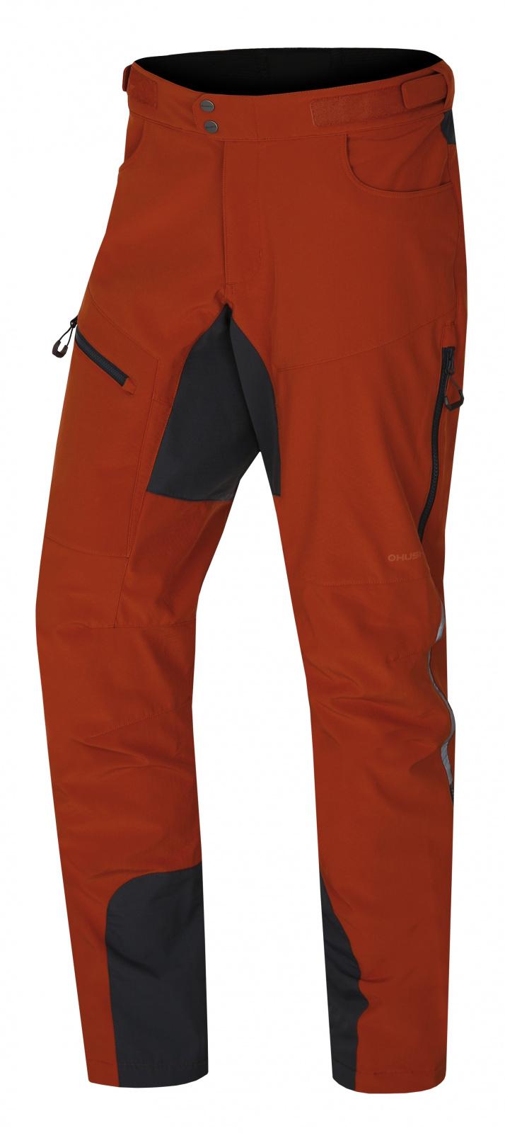 Husky Keson M XL, oranžovohnědá Pánské softshell kalhoty