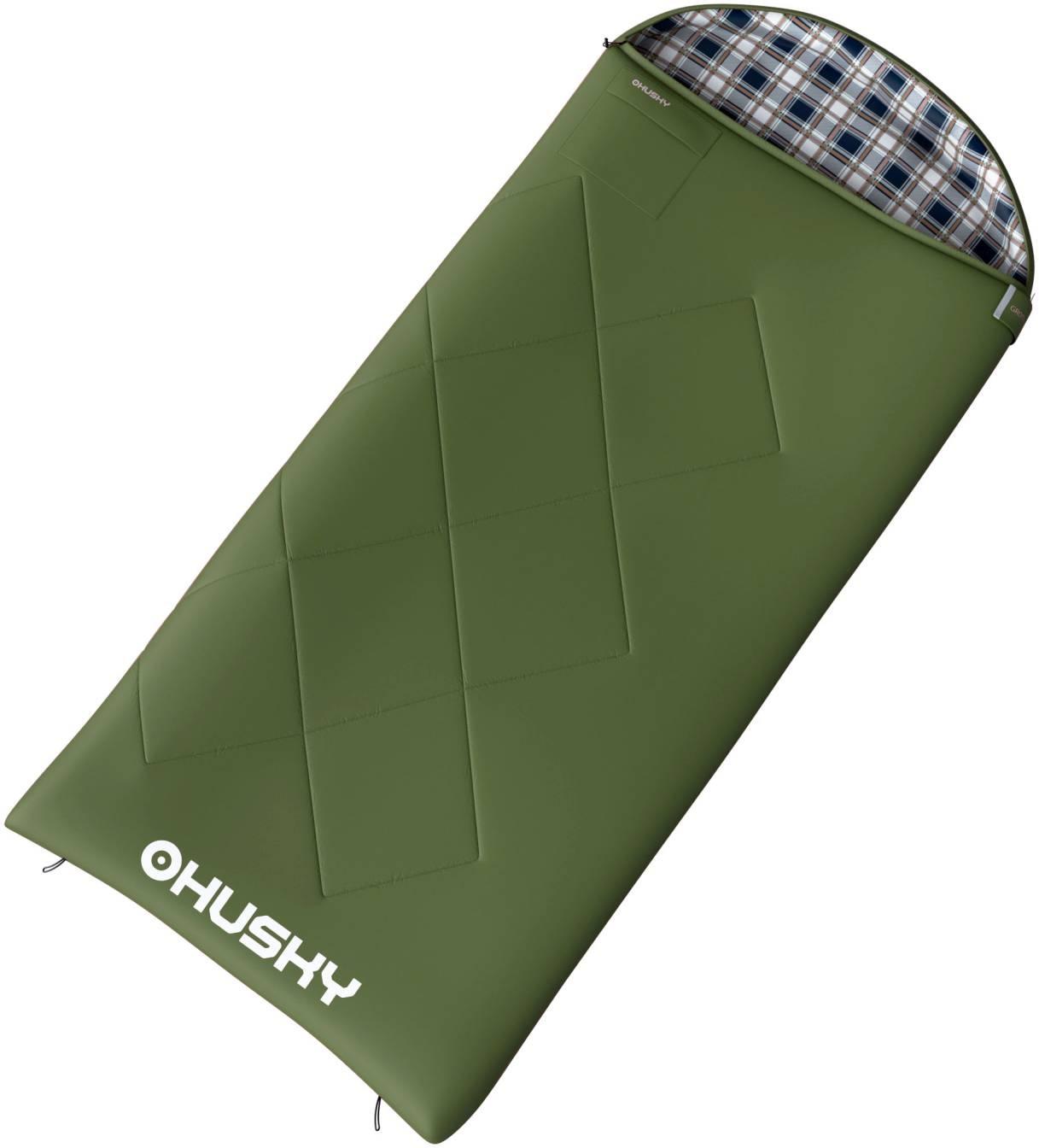 Spacák dekový   Kids Galy -5°C zelená