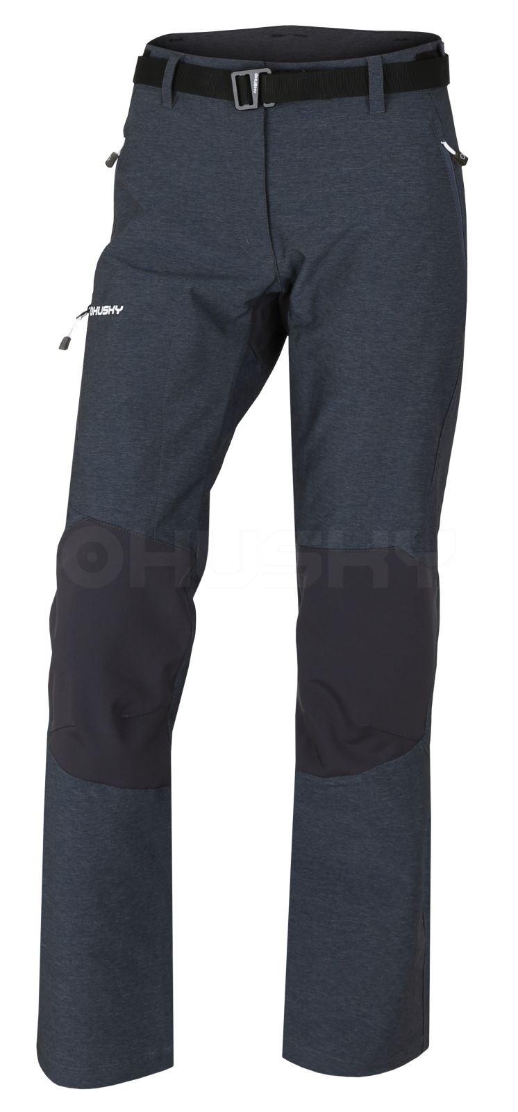 Levně Husky Klass L XL, antracit Dámské outdoor kalhoty