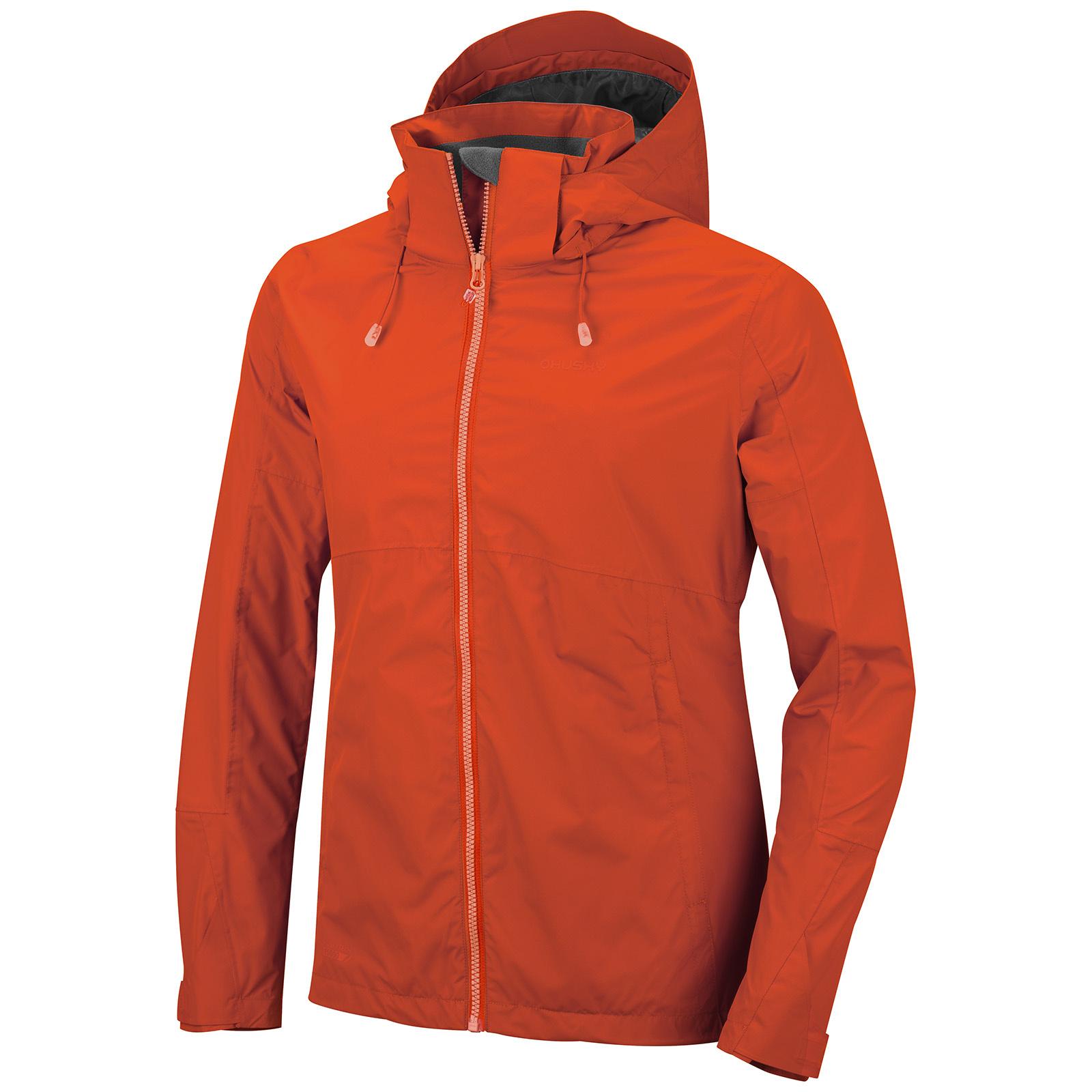 Levně Husky Nelory L L, červená Dámská outdoor bunda