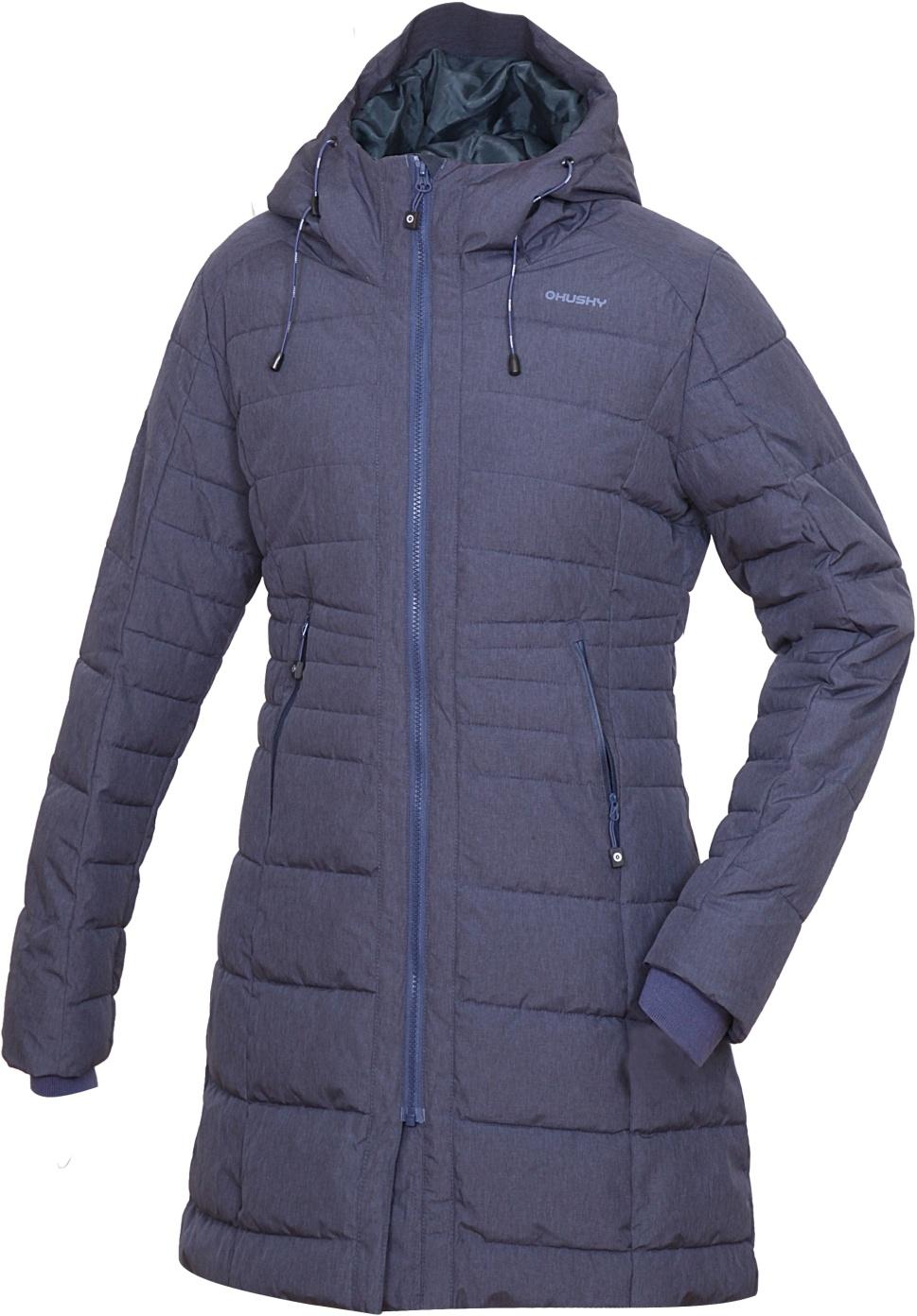 Husky Normy S, modrofialová Dámský zimní kabátek