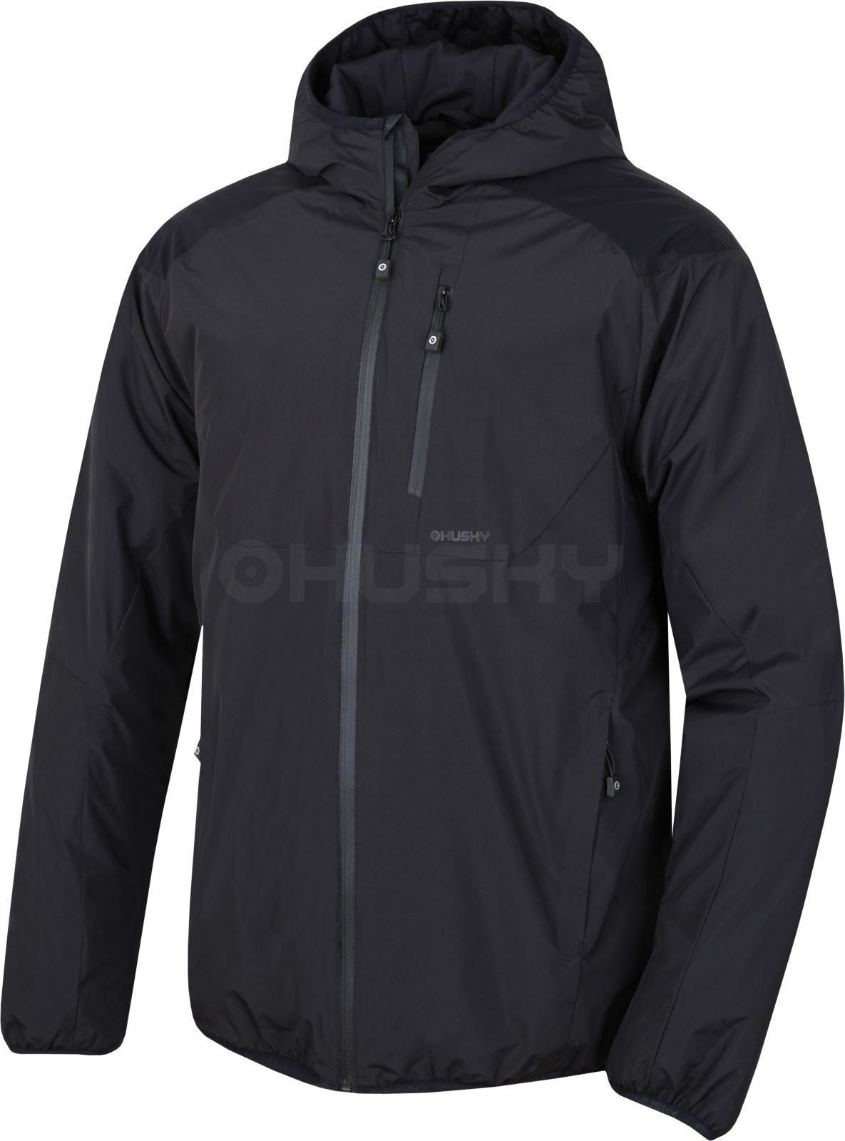 Levně Husky Nott M XL, černá Pánská hardshell bunda