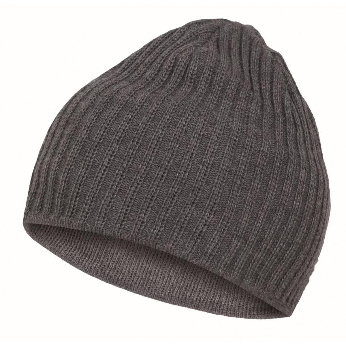 Pánská čepice - Cap 4 – šedá  1e0832a0bd