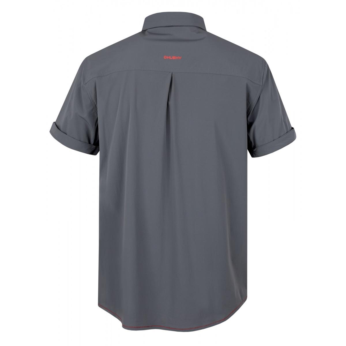 Pánská košile - Gomy – šedá  00fe7d77fb