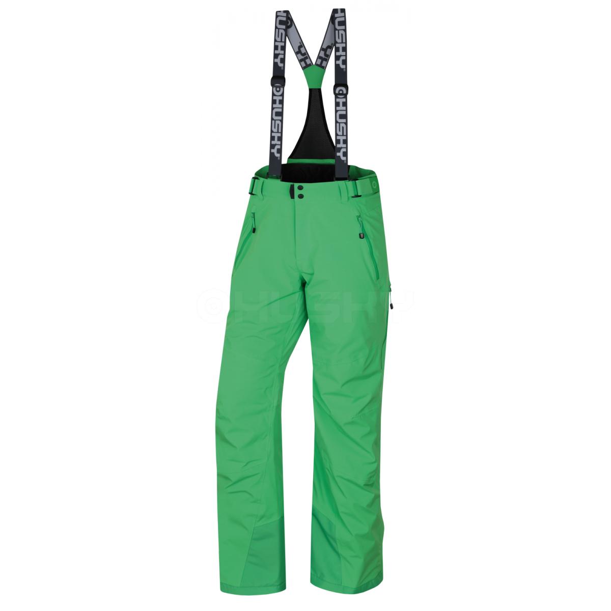 Pánské lyžařské kalhoty - Mithy M – sv. zelená  6af89355fa