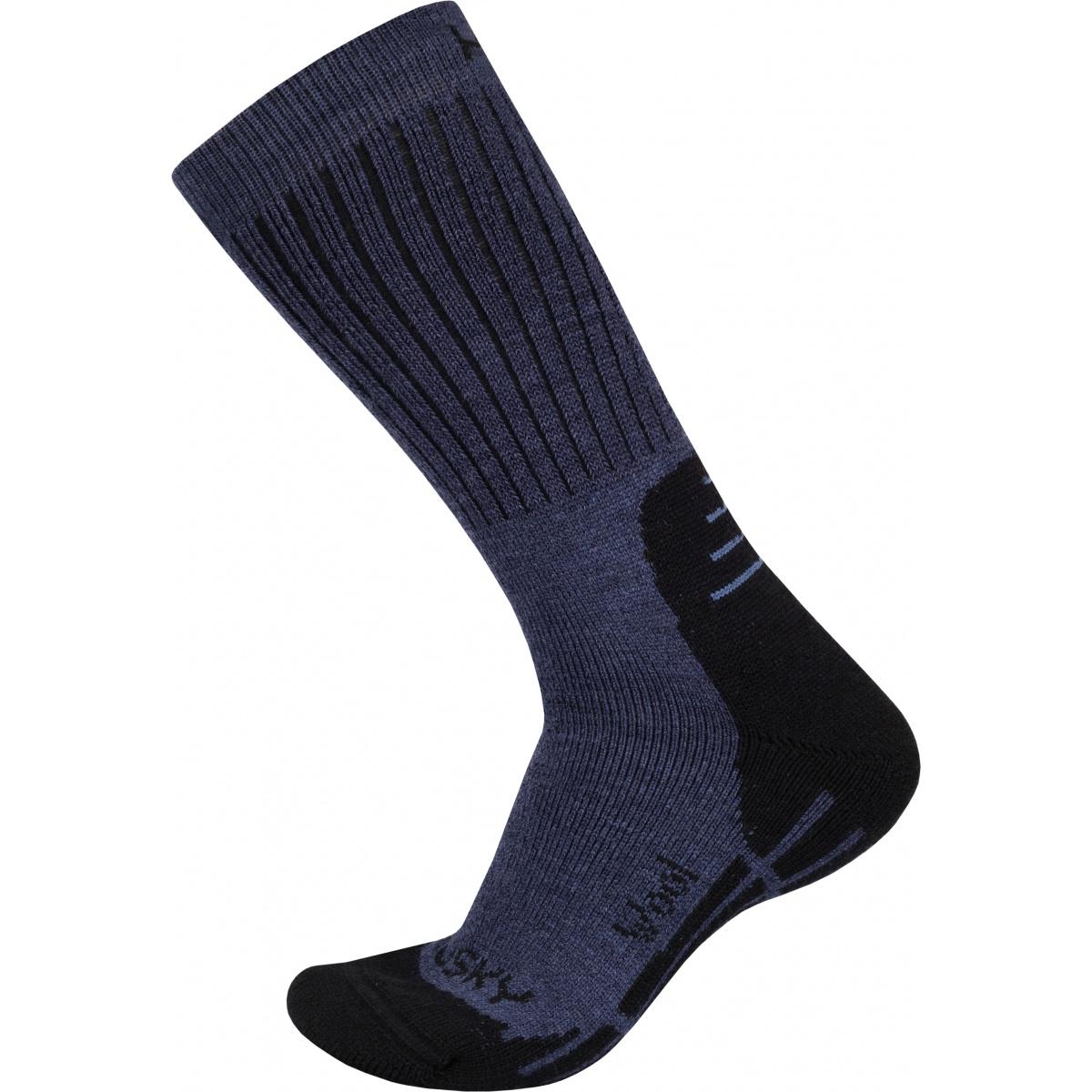 Ponožky - All Wool – modrá  b9ab288f4a