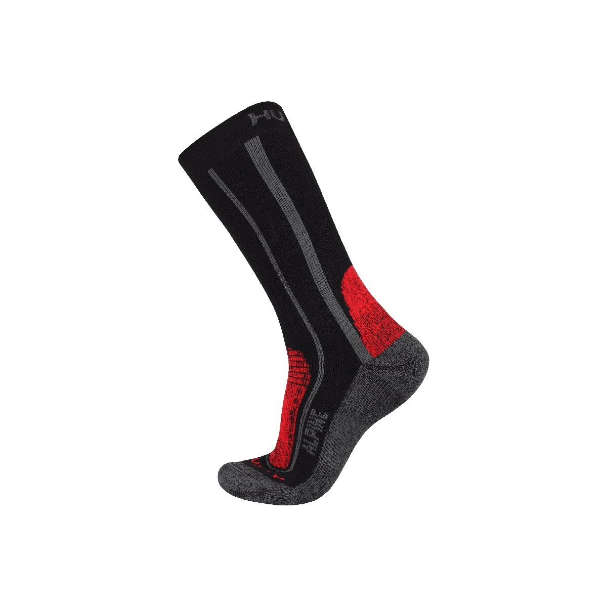 Ponožky - Alpine – červená  03f71004e0