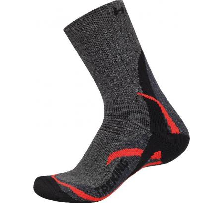 Ponožky - Treking – červená  4824161df2