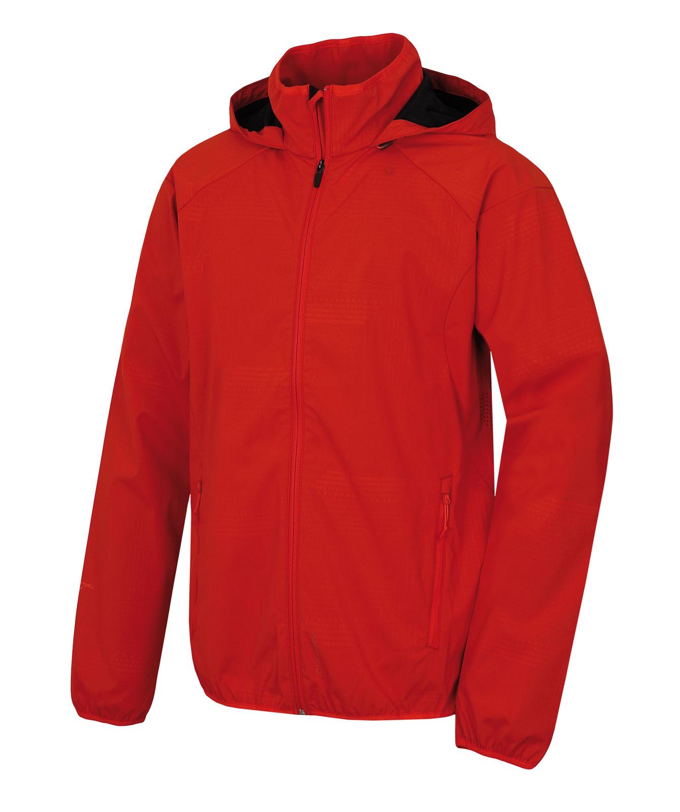 Levně Husky Sally M L, červená Pánská softshellová bunda