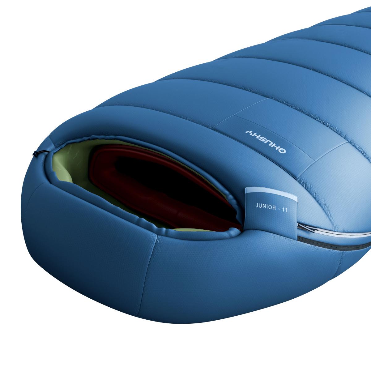 a2cfe38ada Spacák Outdoor - Junior -10°C – modrá