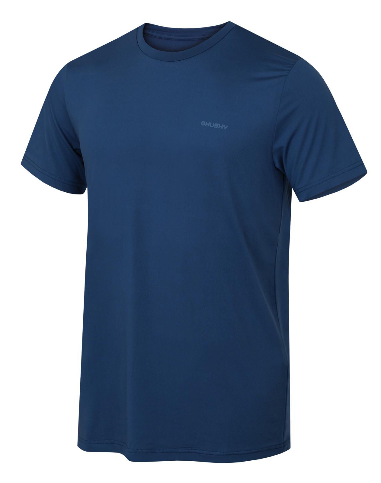 Levně Husky Tonie M XL, tm. modrá Pánské triko