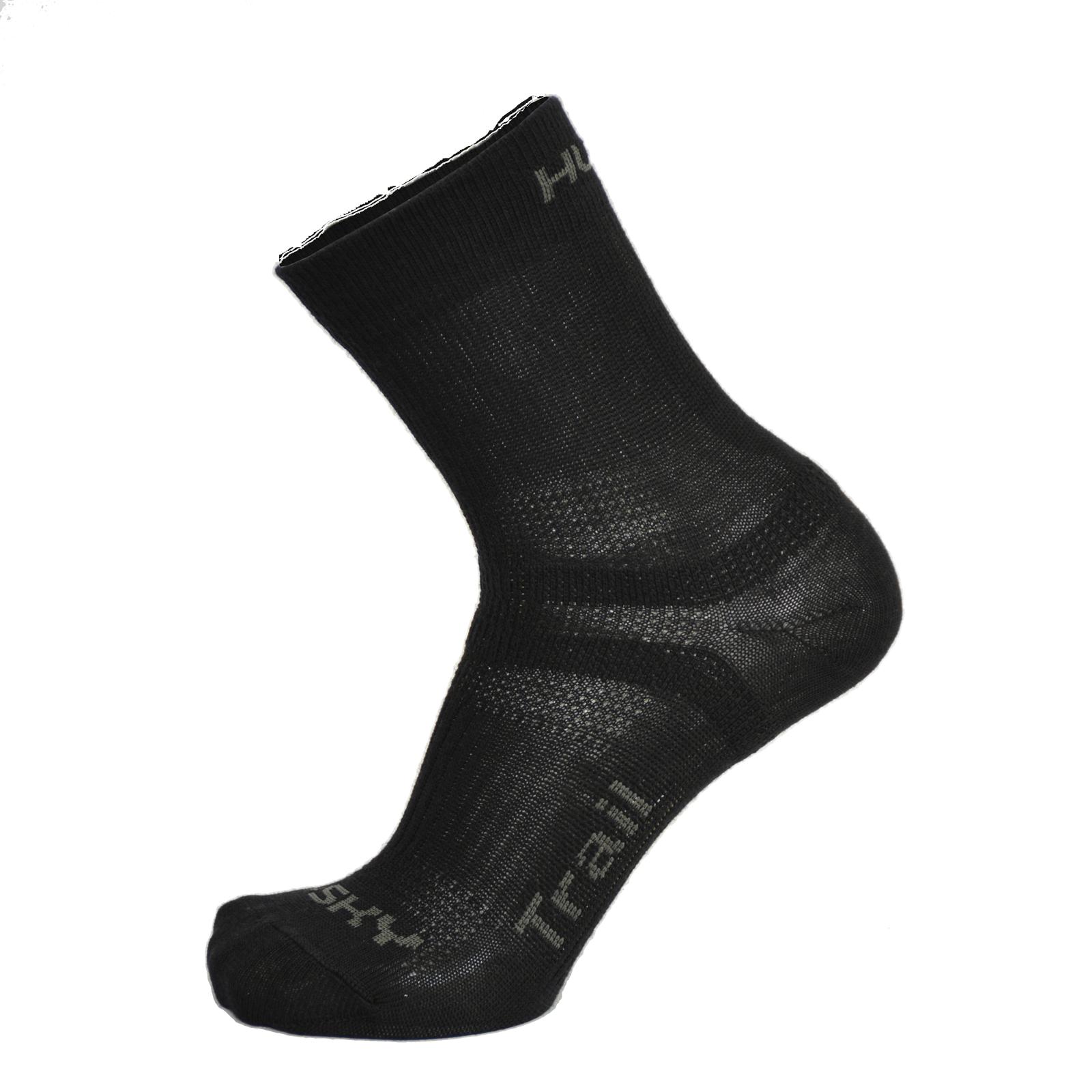 Husky Trail M (36-40), černá Ponožky