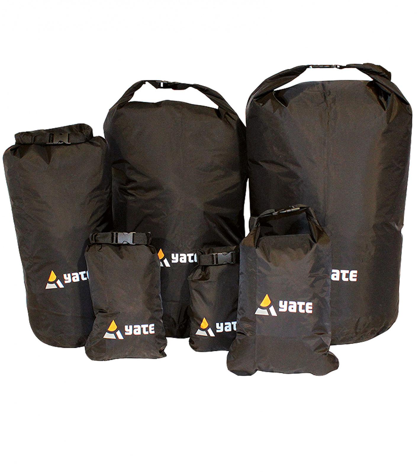 Yate DRY BAG S, černá Nepromokavý vak
